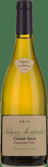 DOMAINE DE LA VOUGERAIE Champ Gain 1er Cru, Puligny-Montrachet 2014
