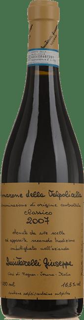 QUINTARELLI Classico, Amarone della Valpolicella DOCG 2007