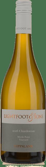 LIGHTFOOT & SONS Myrtle Point Single Vineyard Chardonnay, Gippsland 2016