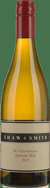 SHAW & SMITH M3 Vineyard Chardonnay, Adelaide Hills 2015