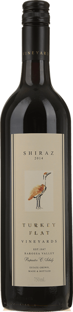 TURKEY FLAT Shiraz, Barossa Valley 2014