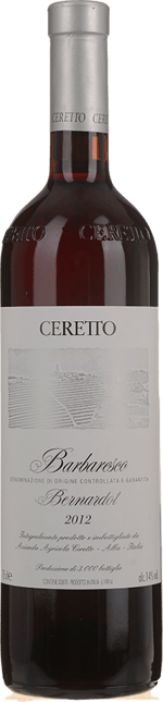 CERETTO Bernardot, Barbaresco DOCG 2012