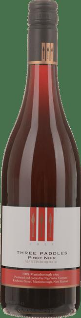 NGA WAKA Three Paddles Pinot Noir, Martinborough 2015