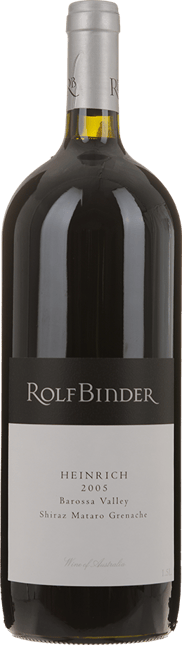 ROLF BINDER VERITAS WINERY Heinrich Vineyard Shiraz Mataro Grenache, Barossa Valley 2005