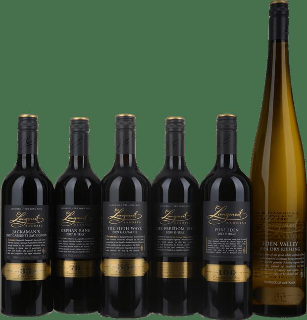 LANGMEIL WINERY Old Vine Garden Special Collectors Set Mixed Varieties, Barossa Valley MV