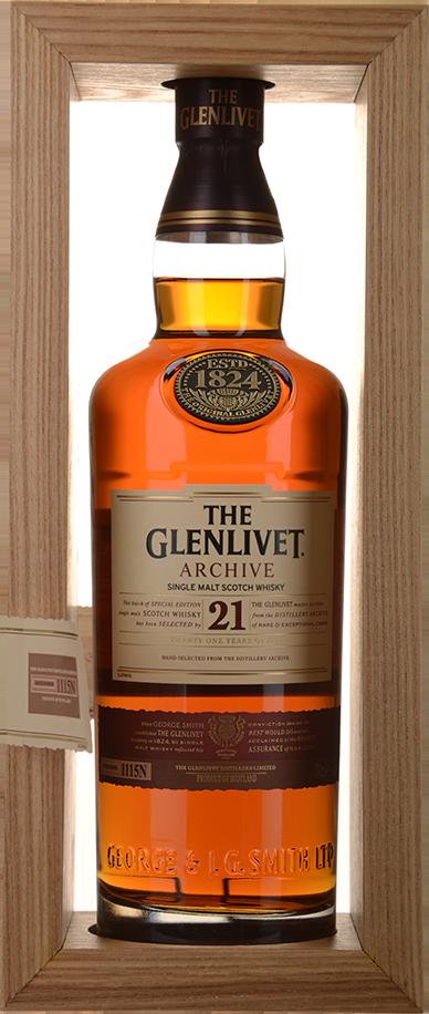 Glenlivet Whiskey