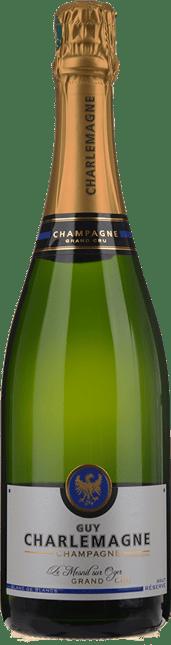 GUY CHARLEMAGNE Reserve Brut Grand Cru Blanc de Blancs, Champagne NV