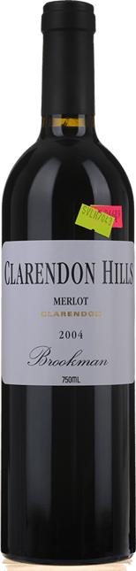 CLARENDON HILLS Brookman Vineyard Merlot, McLaren Vale 2004