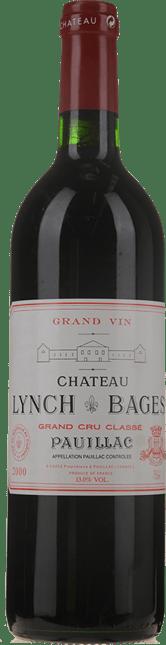 CHATEAU LYNCH-BAGES 5me cru classe, Pauillac 2000