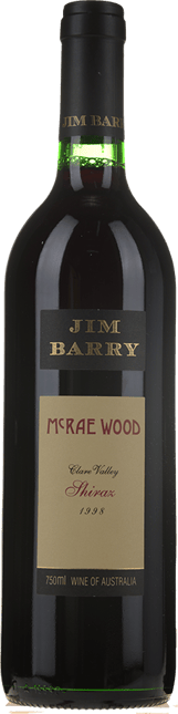 JIM BARRY WINES McRae Wood Shiraz, Clare Valley 1998