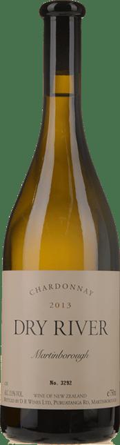 DRY RIVER Chardonnay, Martinborough 2013