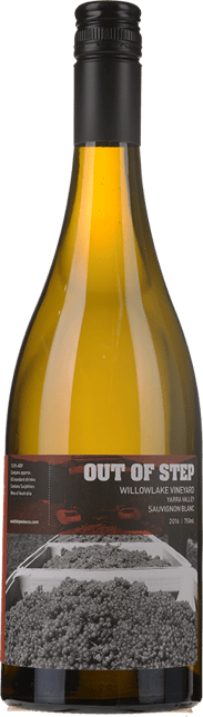 OUT OF STEP Willowlake Vineyard Sauvignon Blanc, Yarra Valley 2016
