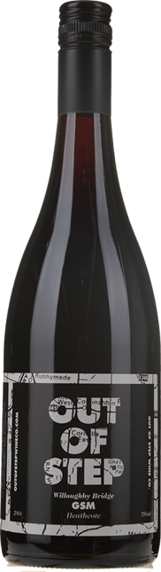 OUT OF STEP Willoughby Bridge Grenache Syrah Mourvedre, Heathcote 2014