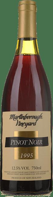 MARTINBOROUGH VINEYARD Pinot Noir, Martinborough/Waiparapa 1995