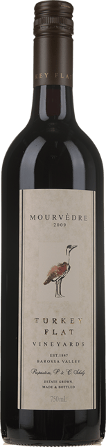 TURKEY FLAT Mourvedre, Barossa Valley 2009