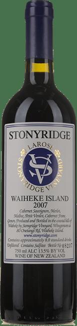 STONYRIDGE VINEYARD Larose Cabernets, Waiheke Island 2007