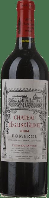 CHATEAU L'EGLISE CLINET, Pomerol 2004
