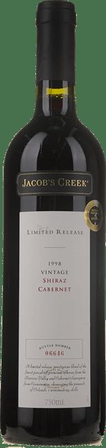 ORLANDO Jacob's Creek Limited Release Shiraz Cabernet, South Australia 1998