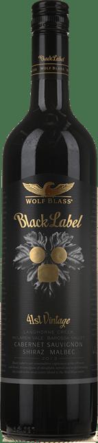 WOLF BLASS WINES Black Label, South Australia 2013