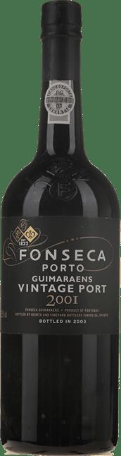 FONSECA'S Guimaraens Vintage Port, Oporto 2001
