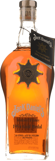 JACK DANIEL'S 1954 Brussels Belgium Gold Medal Tennessee Whiskey 45% ABV, Tennessee NV
