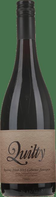 QUILTY WINES Running Stitch Rylstone Single Vineyard Cabernet, Mudgee 2011