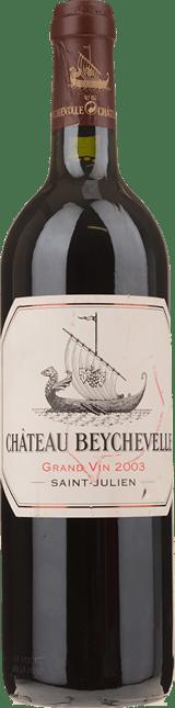 CHATEAU BEYCHEVELLE 4me cru classe, St-Julien 2003