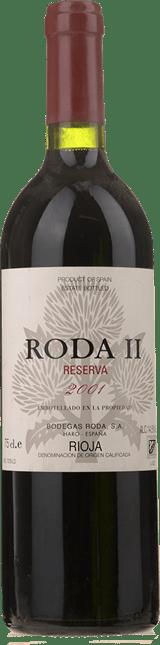 BODEGAS RODA Roda 2 Reserva, Rioja 2001