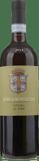 FATTORIA DEI BARBI, Rosso di Montalcino DOC 2014