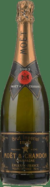 MOET & CHANDON Vintage Imperial Brut, Champagne 1983