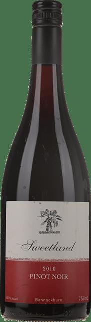SWEETLAND WINEY Pinot Noir, Bannockburn, Geelong 2010