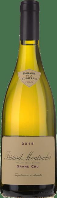 DOMAINE DE LA VOUGERAIE, Batard-Montrachet 2015