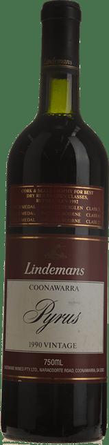 LINDEMANS Pyrus Cabernets, Coonawarra 1990