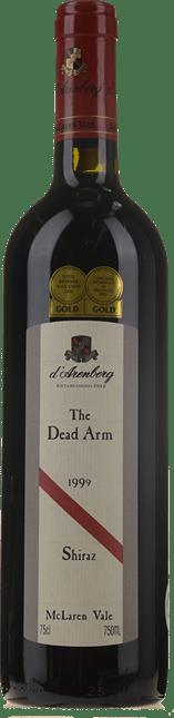 D'ARENBERG WINES The Dead Arm Shiraz, McLaren Vale 1999
