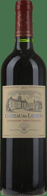 BARON EDMOND DE ROTHSCHILD Chateau Des Laurets, Puisseguin-St-Emilion 2014