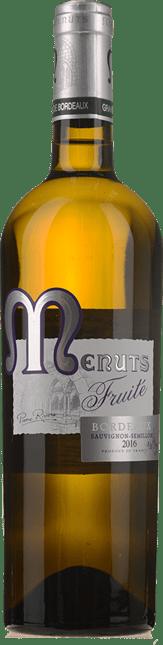 PIERRE RIVIERE Menuts Blanc Fruite, Bordeaux 2016