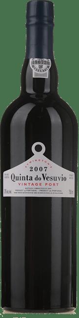 SYMINGTON'S Quinta do Vesuvio Vintage Port, Oporto 2007