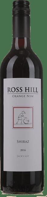 ROSS HILL Jack's Lot Shiraz, Orange 2016