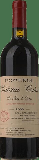 CHATEAU CERTAN-DE-MAY, Pomerol 2000