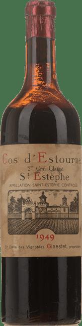 CHATEAU COS D'ESTOURNEL 2me cru classe, St-Estephe 1949