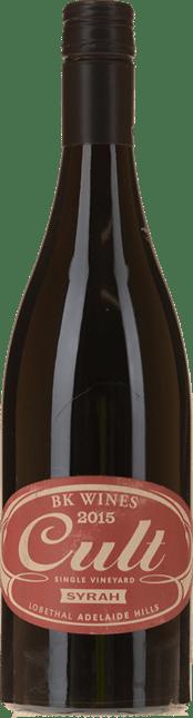 BK WINES Cult Single Vineyard Syrah, Adelaide Hills 2015