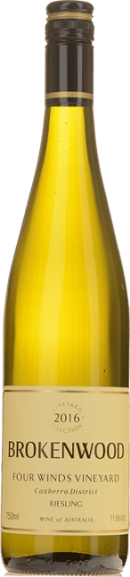 BROKENWOOD WINES Four Winds Vineyard Riesling, Canberra District 2016