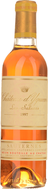CHATEAU D'YQUEM 1er cru superieur, Sauternes 1997