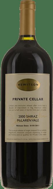 HEWITSON Private Cellar Shiraz Mourvedre, McLaren Vale 2000