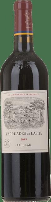 CARRUADES DE LAFITE Second wine of Chateau Lafite, Pauillac 2015