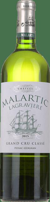 CHATEAU MALARTIC-LAGRAVIERE Blanc Cru classe, Graves 2015