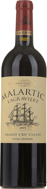 CHATEAU MALARTIC-LAGRAVIERE Rouge Cru classe, Graves 2015