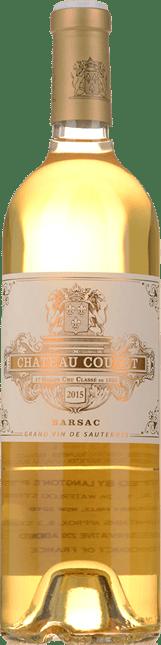 CHATEAU COUTET 1er cru classe, Sauternes-Barsac 2015