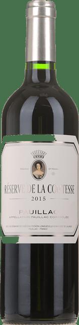 RESERVE DE LA COMTESSE Second wine of Chateau Pichon-Longueville Lalande, Pauillac 2015