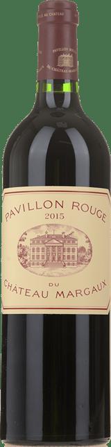 PAVILLON ROUGE DU CHATEAU MARGAUX Second wine of Chateau Margaux, Margaux 2015